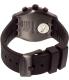 Swatch Men's Chrono YVB403 Black Silicone Quartz Watch - Back Image Swatch
