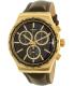 Swatch Men's Chrono YVG401 Brown Leather Swiss Quartz Watch - Main Image Swatch