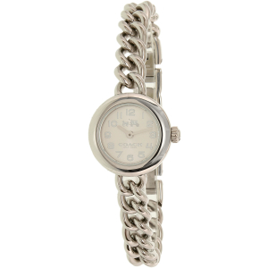 Coach Women's Waverly 14000054 Silver Stainless-Steel Quartz Watch