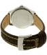 Coach Women's 14501525 Silver Leather Quartz Watch - Back Image Swatch