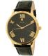 Guess Men's U0794G1 Black Leather Quartz Watch - Main Image Swatch