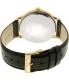 Guess Men's U0794G1 Black Leather Quartz Watch - Back Image Swatch