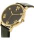 Guess Men's U0794G1 Black Leather Quartz Watch - Side Image Swatch