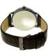 Guess Men's U0664G3 Brown Leather Quartz Watch - Back Image Swatch