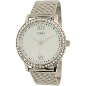 Guess Women's U0785L1 Silver Stainless-Steel Quartz Watch