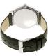 Guess Men's U0793G2 Black Leather Quartz Watch - Back Image Swatch