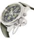 Invicta Men's Russian Diver 7000 Black Leather Swiss Quartz Watch - Side Image Swatch