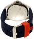 Lacoste Men's Capbreton 2010842 Blue Silicone Quartz Watch - Back Image Swatch