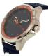 Lacoste Men's Capbreton 2010842 Blue Silicone Quartz Watch - Side Image Swatch