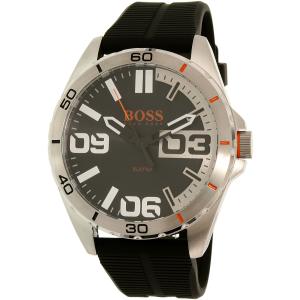 Hugo Boss Men's Berlin 1513285 Black Silicone Quartz Watch