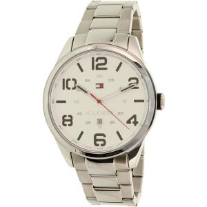 Tommy Hilfiger Men's 1791159 Silver Stainless-Steel Quartz Watch
