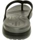 Crocs Women's Capri V Flip Ankle-High Fabric Sandal - Back Image Swatch