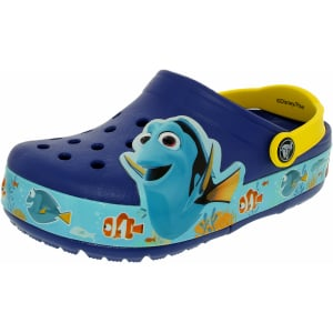 Crocs Boy's Kids Crocslights Finding Dory Ankle-High Rubber Flat Shoe