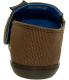 Crocs Boy's Kids Santa Cruz Ankle-High Canvas Flat Shoe - Back Image Swatch