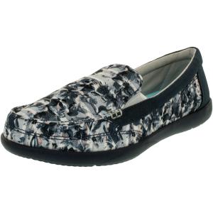 Crocs Women's Walu II Floral Ankle-High Canvas Flat Shoe