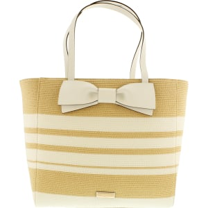 Kate Spade Women's Clement Street Straw Blair Straw Top-Handle Tote
