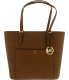Michael Kors Women's Large Jet Set Snap Pocket Leather Top-Handle Tote - Main Image Swatch
