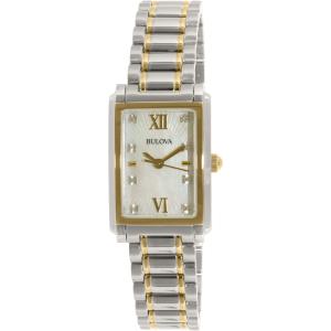 Bulova Women's 98S144 Silver Stainless-Steel Quartz Watch