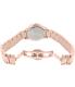 Bulova Women's 97W101 Rose Gold Stainless-Steel Quartz Watch - Back Image Swatch