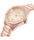 Bulova Women's 97W101 Rose Gold Stainless-Steel Quartz Watch - Side Image Swatch