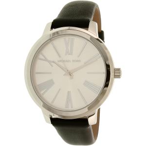 Michael Kors Women's Hartman MK2518 Silver Leather Quartz Watch