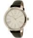 Michael Kors Women's Hartman MK2518 Silver Leather Quartz Watch - Main Image Swatch