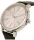 Michael Kors Women's Hartman MK2518 Silver Leather Quartz Watch - Side Image Swatch