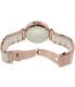 Michael Kors Women's Parker MK6365 Rose Gold Ceramic Quartz Watch - Back Image Swatch