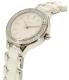 Dkny Women's NY2494 Silver Ceramic Quartz Watch - Side Image Swatch