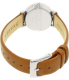 Skagen Women's Hald SKW2440 Brown Leather Quartz Watch - Back Image Swatch