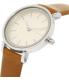 Skagen Women's Hald SKW2440 Brown Leather Quartz Watch - Side Image Swatch