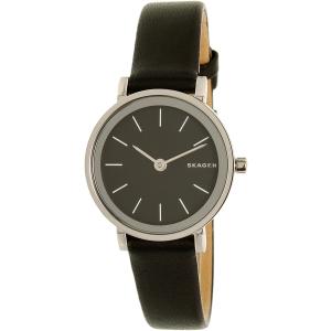 Skagen Women's Hald SKW2442 Black Leather Quartz Watch