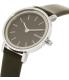 Skagen Women's Hald SKW2442 Black Leather Quartz Watch - Side Image Swatch