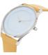 Skagen Women's Holst SKW2451 Silver Leather Quartz Watch - Side Image Swatch