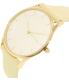 Skagen Women's Holst SKW2452 Beige Leather Quartz Watch - Side Image Swatch