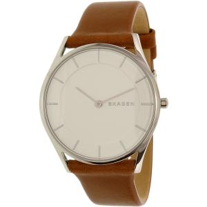 Skagen Women's Holst SKW2453 Brown Leather Quartz Watch