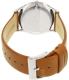 Skagen Women's Holst SKW2453 Brown Leather Quartz Watch - Back Image Swatch