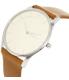 Skagen Women's Holst SKW2453 Brown Leather Quartz Watch - Side Image Swatch