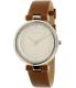 Skagen Women's Tanja SKW2458 Silver Leather Quartz Watch - Main Image Swatch