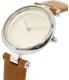 Skagen Women's Tanja SKW2458 Silver Leather Quartz Watch - Side Image Swatch