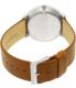 Skagen Men's Hald Solar SKW6277 Silver Leather Quartz Watch - Back Image Swatch