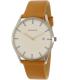 Skagen Men's Holst SKW6282 Silver Leather Quartz Watch - Main Image Swatch