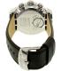 Swatch Men's Chrono YOS451 Black Leather Swiss Quartz Watch - Back Image Swatch