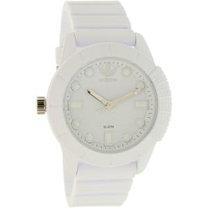 Adidas Women's ADH3102 White Resin Quartz Watch