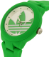 Adidas Men's ADH3117 Green Resin Quartz Watch - Side Image Swatch