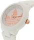 Adidas Women's ADH9085 White Resin Quartz Watch - Side Image Swatch