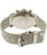 Emporio Armani Men's AR8032 Silver Stainless-Steel Quartz Watch - Back Image Swatch