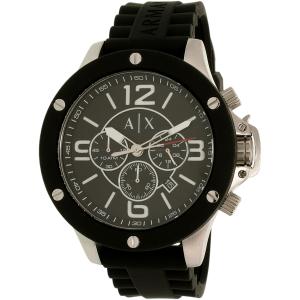Armani Exchange Men's AX1522 Black Resin Quartz Watch