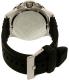 Armani Exchange Men's AX1522 Black Resin Quartz Watch - Back Image Swatch