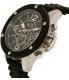 Armani Exchange Men's AX1522 Black Resin Quartz Watch - Side Image Swatch